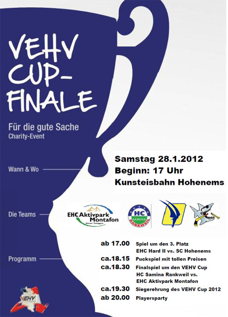 VEHV-Cup-Finaltag im Eisstadion Herrenried!