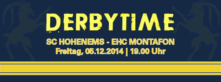Derbytime in Hohenems