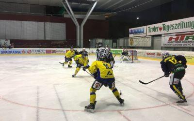 Knappe Niederlage in Kufstein!