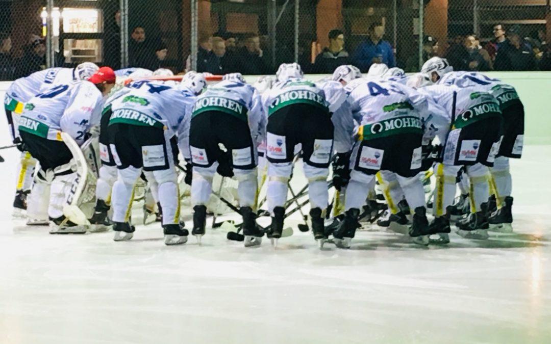 Eliteliga-Playoff: Steinböcke stellen mit Kantersieg auf 1:0 in der Halbfinal-Serie!
